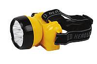 Перезаряжаемый налобный LED фонарик BECKHAM-2