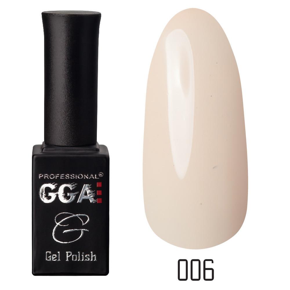 Гель-лак GGA, №006 (магнолия), 10 мл