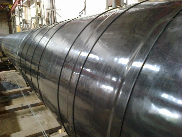 Ізоляція сталевих труб стрічками Алтена - Дуже посилений тип