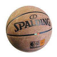 Мяч баскетбольный замша Spalding NCAA
