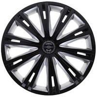 Колпаки на колеса диски для дисков R14 серо / черные SL/BK Гига супер блэк колпак