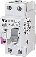 Реле дифференциальное ETI (УЗО) EFI-2 40/0,03 тип AC (10kA), 2062123