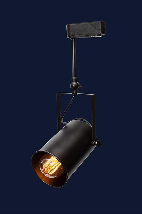Трековый светильник LOFT L521208B-1 BK 120мм