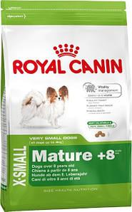 Роял Канин X-Small Mature+8, 1.5кг/Сухой корм для  миниатюрных собак старше 8 лет