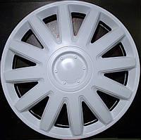 Колпаки на колеса диски для дисков R16 белые Элегант колпак