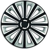 Колпаки на колеса диски для дисков R16 серо / черные SL/BK Тренд Супер Блэк колпак