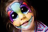 Грим Неоновый карнавальный карандаши 6 шт, фото 2