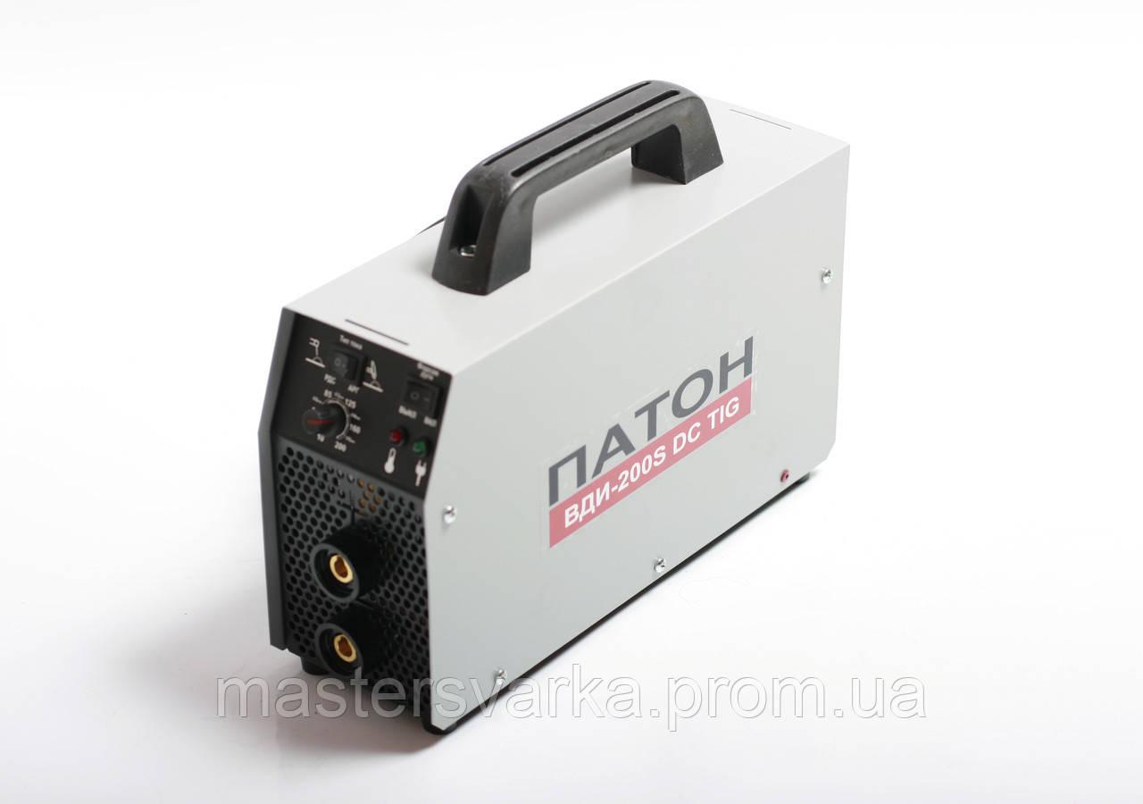 Сварочный аппарат инверторного типа ПАТОН ВДИ-200S DC MMA/TIG