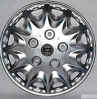 Колпаки на колеса диски для дисков R16 серые Нива под колесные болты Принц колпак