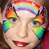 Грим Неоновый карнавальный карандаши 6 шт, фото 5
