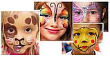 Грим Неоновый карнавальный карандаши 6 шт, фото 6