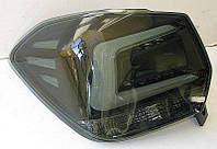 Subaru XV / Crosstrek оптика задняя светодиодная LED черный тонированный