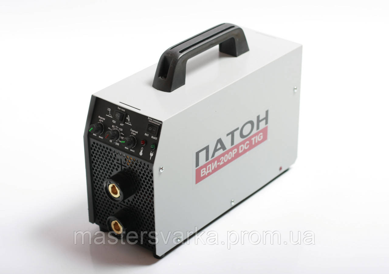 Сварочный инвертор ПАТОН ВДИ-200P DC MMA/TIG