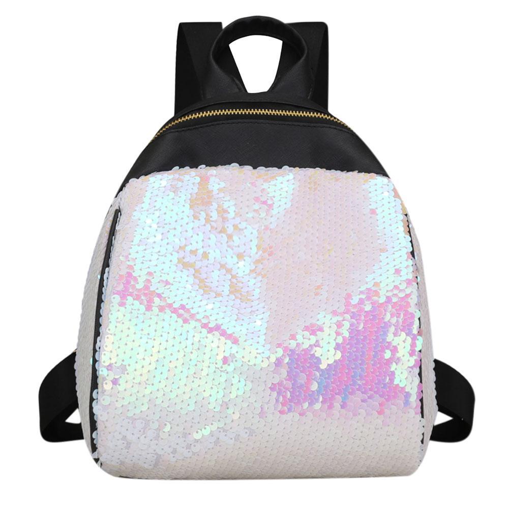 3fe6d935f4ce Модный нежный маленький рюкзак с паетками - Интернет магазин