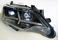Toyota Сamry V55 оптика передняя ксенон ,фары тюнинг Y стиль 2015+