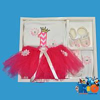 """Детский набор - коробка """"Pon Pon"""", на 1 годик"""
