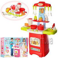 Детская игровая кухня 889-52-53 звук свет, 24 предмета