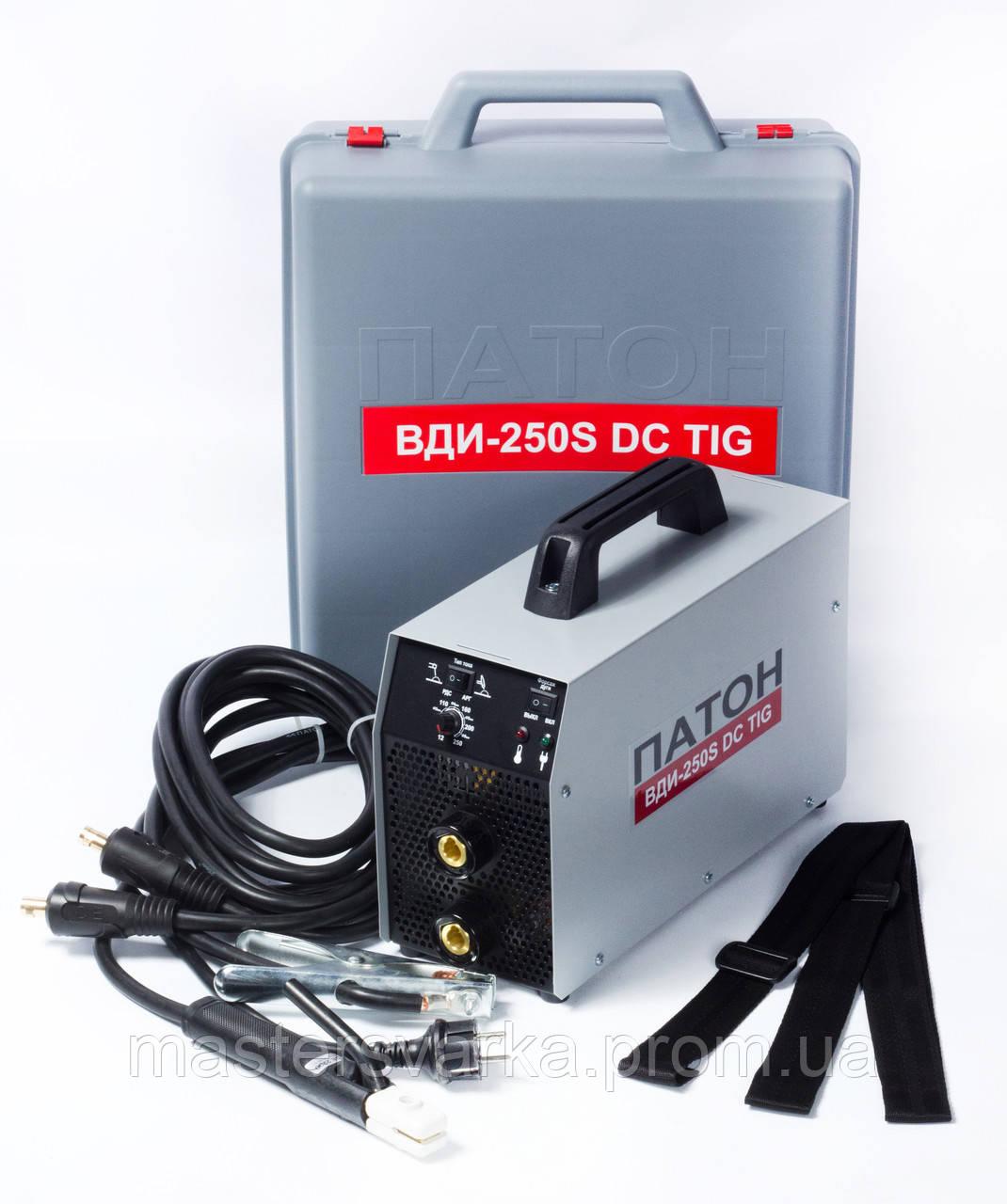 Сварочный инверторный аппарат ПАТОН ВДИ-250S DC MMA/TIG