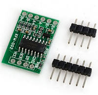 Модуль HX711 АЦП 24-біт з підсилювачем для тензометричних датчиків ваги