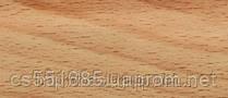 0006 Бук орландо - плинтус напольный пластиковый ТіС (ТИС)   с кабель каналом и резиновыми краями - 56мм