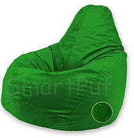 Кресло-груша Оксфорд / Размер M Без съемного чехла, Зеленый