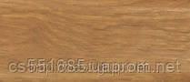 0008 Дуб шервуд - плинтус напольный пластиковый ТіС (ТИС)   с кабель каналом и резиновыми краями - 56мм