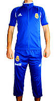 Летний спортивный костюм Реал Мадрид (Adidas) XS