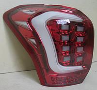 Subaru Forester SJ оптика задняя альтернативная фонари тюнинг диодные красные/ LED