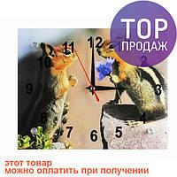 Настенные Часы Бурундучки / Настенные часы