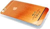 Чехол COV-028 для IPHONE 6 силиконовый в виде металлик (в упаковке)
