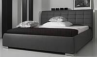 Кровать для спальни с мягким изголовем