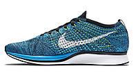 Мужские кроссовки Nike Flyknit Racer Chlorine Blue
