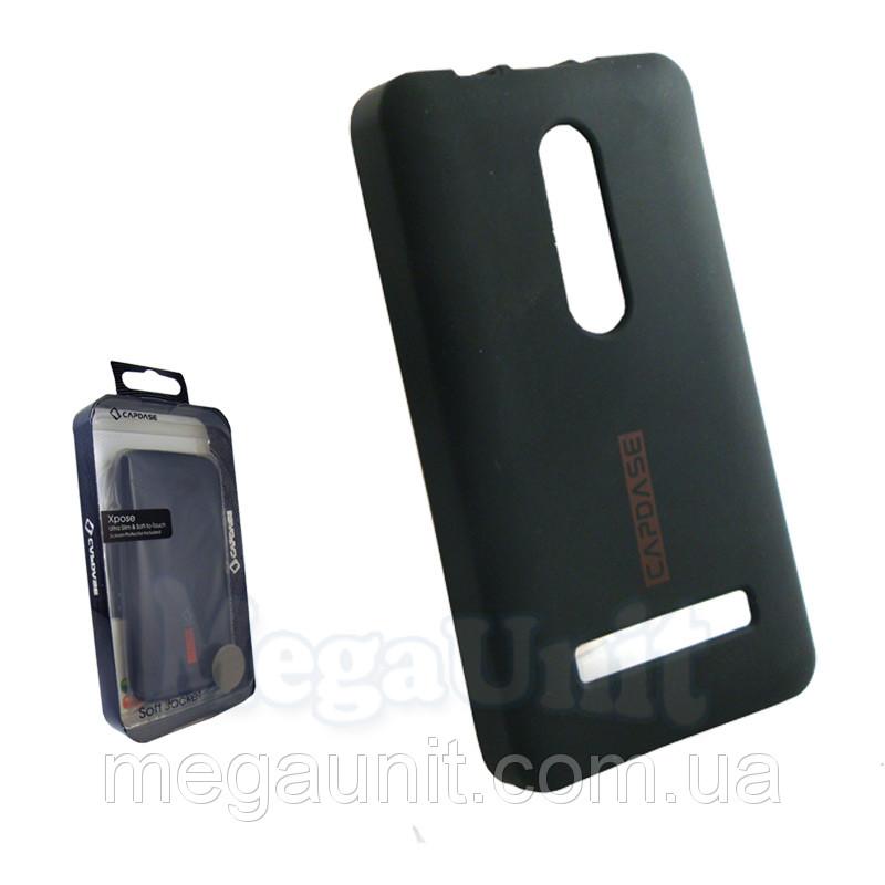 Capdase. Nokia Asha 210. Силиконовый чехол (+пленка)