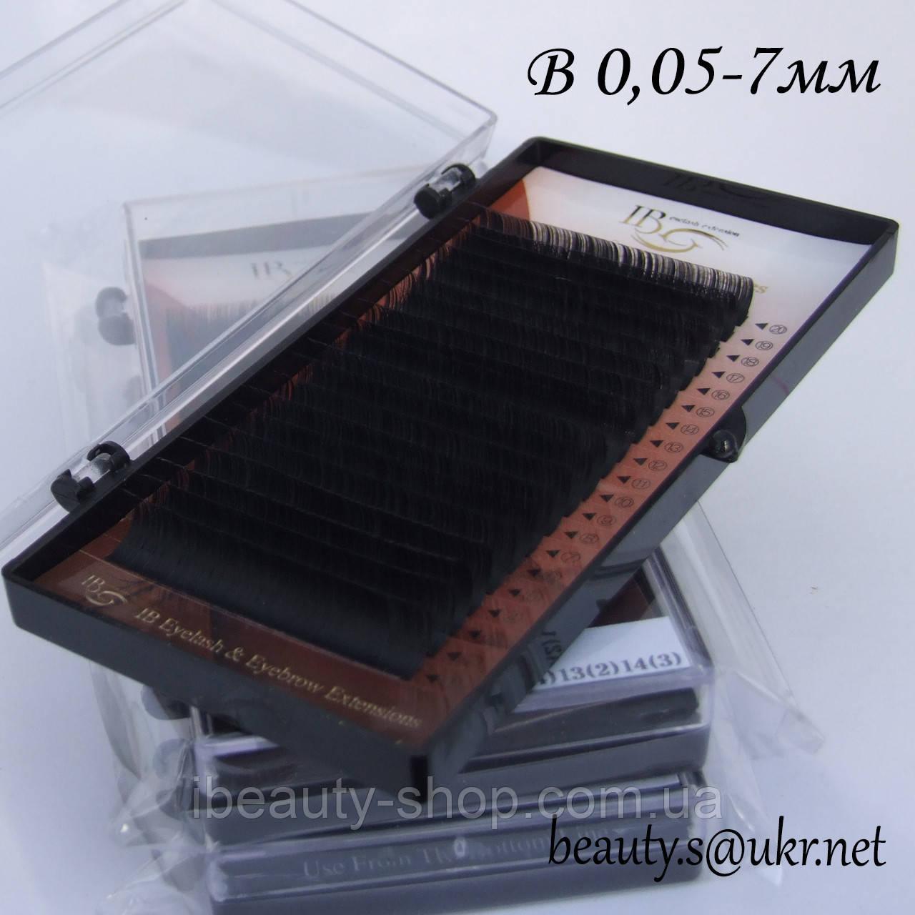 Ресницы  I-Beauty на ленте B-0,05 7мм