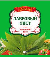 """Лавровый лист 10 г  ТМ """"Впрок"""""""