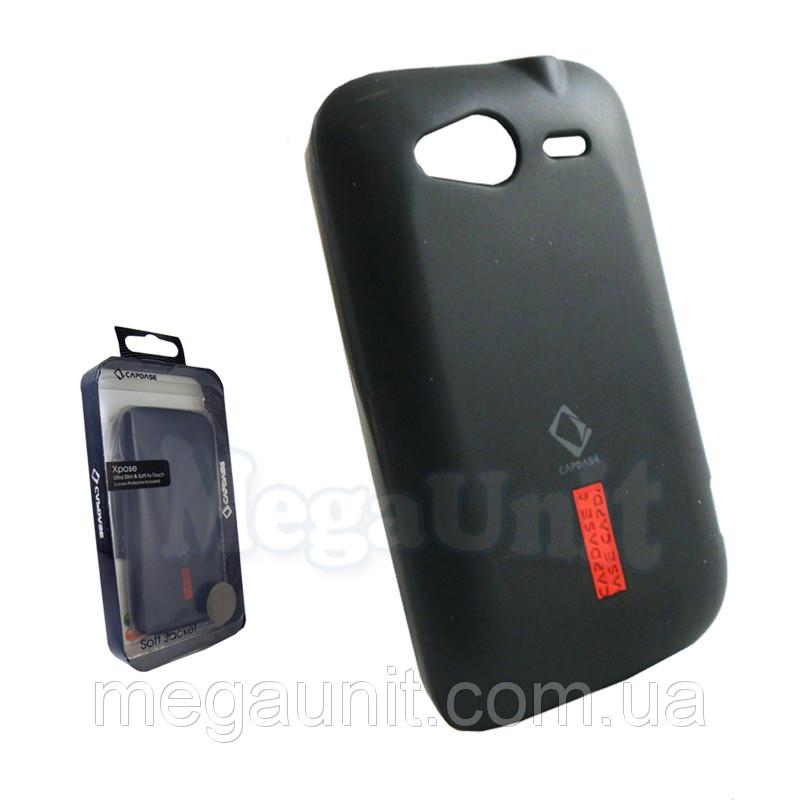 Capdase. HTC A510e Wildfire S. Силиконовый чехол (+пленка)