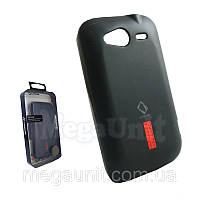 Capdase. HTC A510e Wildfire S. Силиконовый чехол (+пленка), фото 1