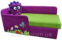 Детский диванчик с бортиками Ёжик ( смешарик )