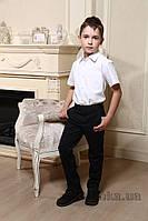 Брюки школьные черные для мальчика Милана БМ-02109 30 ( Р-116, ОГ-60, ОТ-54)