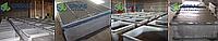 Форма асбоцементная для производства ячеистых бетонов с применение установки для резки ячеистых бетонов ПМ1.05