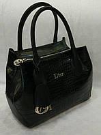 Женская мини сумочка от Dior в черном цвете. Материал: эко-кожа. Размер 29х25.