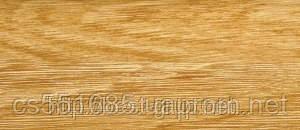 0030 Дуб степной - плинтус напольный пластиковый ТіС (ТИС)   с кабель каналом и резиновыми краями - 56мм
