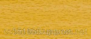 0037 Дуб гірський - плінтус підлоговий пластиковий ТіС (ТІС) з кабель каналом і гумовими краями - 56мм