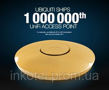 Золотая точка доступа от Ubiquiti