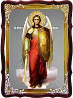Икону купить для церкви Михаила фон под серебро