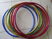 Обруч гимнастический диаметр 45 см. в блестящей обмотке