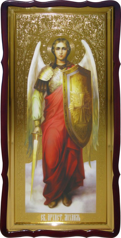 Церковні ікони - ікона Михаїла з мечем
