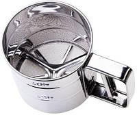 Кружка-сито Empire Pro 400мл для просеивания муки и других сыпучих продуктов