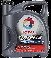 Масло синтетика Тотал 5w30 Quartz INEO Long Life 5L VW 504.00, 507.00