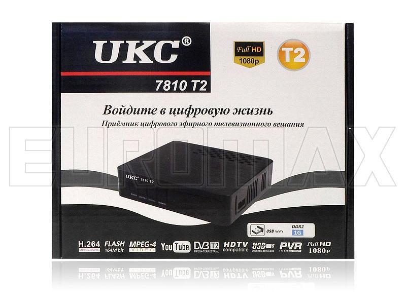 """Приёмник цифрового эфирного DVB-T/T2 вещания UKC-7810-T2 - Интернет-магазин  """"Спектрик"""" в Одессе"""